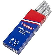 Edding 1200-054 - Rotulador con punta de fibra, 10 unidades, color metálico plateado