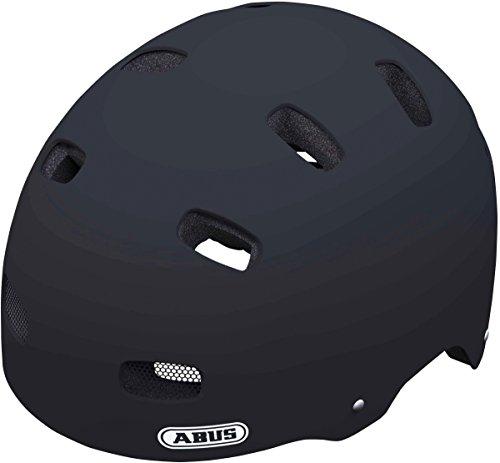 Abus Unisex - Kinder Fahrradhelm Scraper v.2, velvet black, 48-55 cm, 37274-2