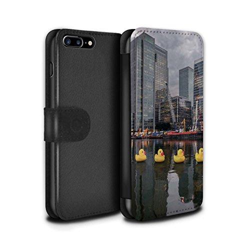 Stuff4 Coque/Etui/Housse Cuir PU Case/Cover pour Apple iPhone 8 Plus / Pack 29pcs Design / Imaginer Collection Grande Évasion