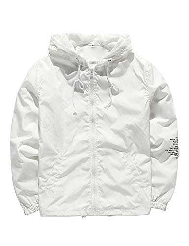 Sweat-Shirt Homme Blanc Weiss/Grau RELIVE