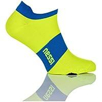 Nessi SRS - Calzini sportivi da corsa, 100% traspiranti, per ciclismo, corsa, fitness, outdoor