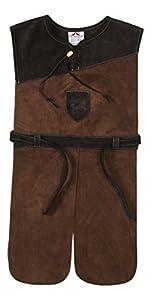 Fantashion G 32 - Disfraces infantiles, túnica Galahad del caballero oscuro
