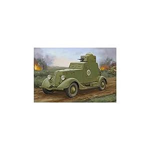 Hobby Boss 83883-Maqueta de Soviet BA de 20Armored Car Mod.1939