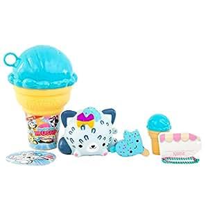 Bandai 80718 Smooshy Mushy Series 3 Creamery Core Pet Playset