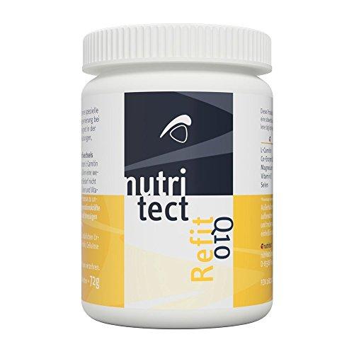 nutritect ReFit Q10 - Schnellere Regeneration für Leistungssportler mit L-Carnitin und Coenzym Q10 | 60 Tabletten | Hergestellt in Bayern -
