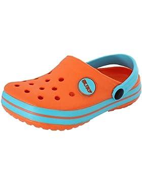 Infantil / Infantil IAM SURF NIÑO NIÑA UNISEX Playa Zuecos Sandalias Zapatos sin cierres