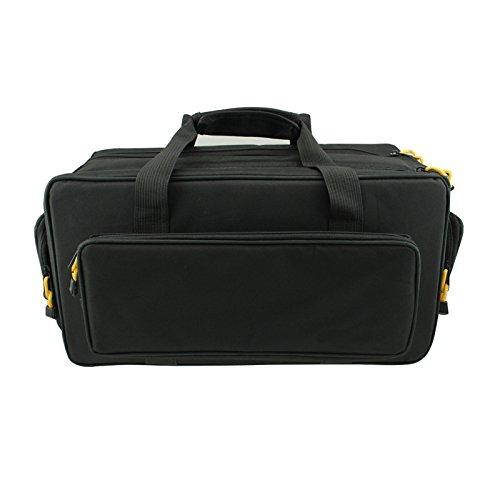 Z&HXborsa fotografica reflex borsa a tracolla borsa fotografica professionale multifunzionale impermeabile , black Black
