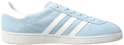 adidas Originals München, Scarpe da Ginnastica Basse Uomo Blu (Icey Blue)