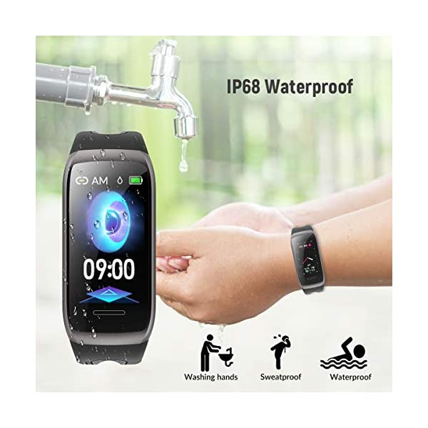 TagoBee TB14 Pulsera Actividad Fitness Trackers IP68 Waterproof Smart Band 1.14'' LCD Color Screen Sport Smart Brazalete… 7