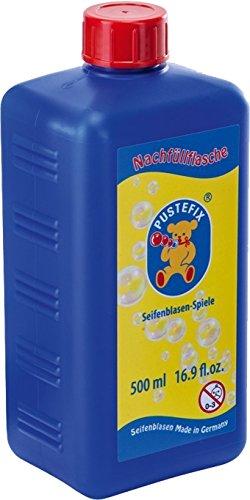 PUSTEFIX - Seifenblasen Nachfüllflasche (1 x 500ml Nachfüllflasche)