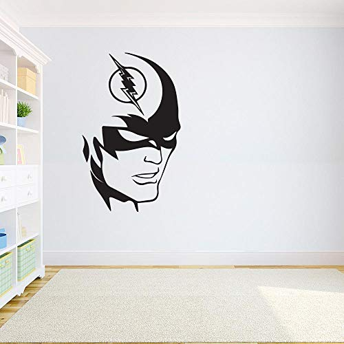 The Flash Wall Decal Flash Themed Super Hero Wall Decal Comics Decals Dc Kids Room Wall Decor Mural for Home Bedroom Decoration Wall Decal Room Art Gift - Flash Wall