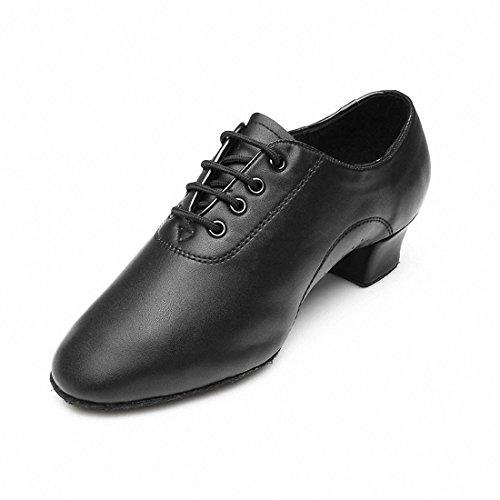 MQ Hombres de Jazz Latina Zapatos de Baile Negro Suave Parte Inferior Zapatos de Baile Moderno Zapatos de Baile, Hombre, 41