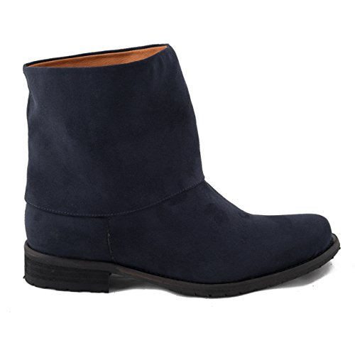 NAE Mira Blau - Damen Vegan Stiefel - 2