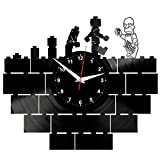 LEGO SIMPSONS Reloj De Pared Vintage Accesorios De Decoración del Hogar Diseño Moderno Reloj De...
