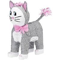 Amscan Pinatas Cat (Grey)