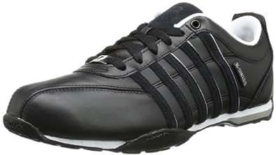 K-Swiss ARVEE 1.5 02453-075-M Herren Sneaker, Schwarz (Black/Stingray/Red), EU 39.5 (UK 6)
