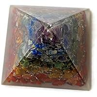 Multi Edelstein Pyramide, Reiki Healing Edelstein Chakra Pyramide, spirituelle Energetische Pyramide mit Quarzkristall... preisvergleich bei billige-tabletten.eu