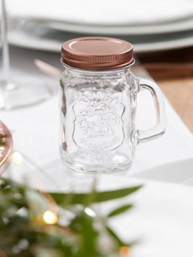 Henkelglas, Schraubglas | roségold - 3