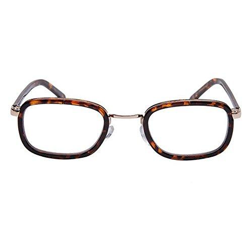 Zhuhaixmy Mens Frauen Lesebrille Mode Runde Schildpatt Brillen Stärke:+1.0 to +4.0