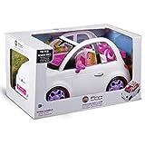 Grandi Giochi- Fiat 500 Auto per Fashion Doll, Colore Bianco, GG00620