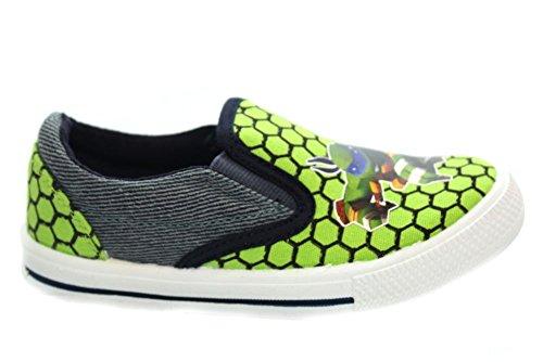 Mr Shoes ,  Jungen Plimsolls Grün