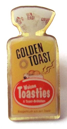 Golden Toast - Toasties - Pin 25 x 12 mm