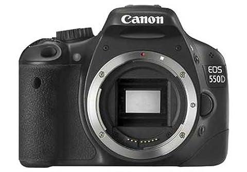 Canon EOS 550D SLR-Digitalkamera (18 Megapixel, LiveView) Kit inkl. EF-S 18-55mm 1:3,5-5,6 IS II Objektiv
