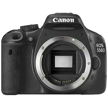 Canon EOS 550D - Cámara Réflex Digital 18.7 MP (Objetivo EF-S 18 ...