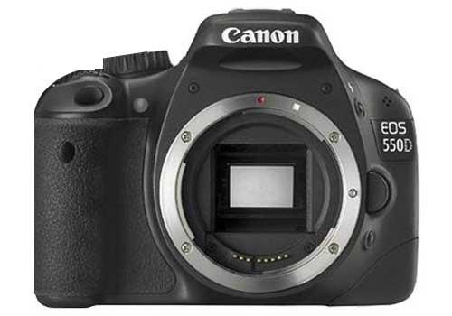 Canon EOS 550D SLR-Digitalkamera (18 Megapixel, LiveView) Kit inkl. EF-S 18-55mm 1:3,5-5,6 IS II Objektiv (bildstabilisiert)