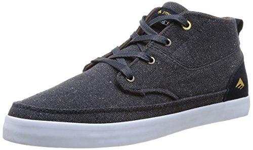 Emerica Troubadour, Chaussures de skateboard homme Gris (Navy/White)
