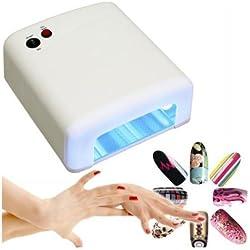 Lámpara UV 36w secadora de uñas de gel para la manicura