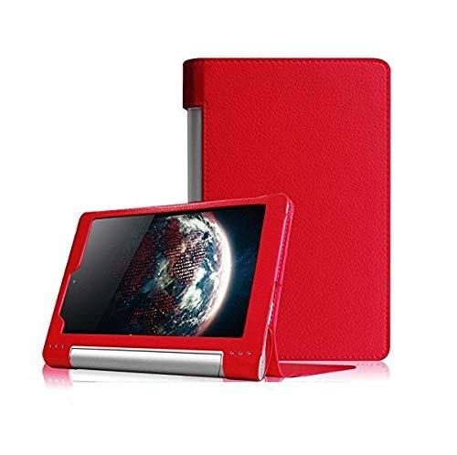 custodie tablet lenovo TabletHutBox® - Custodia sottile e leggera per tablet Lenovo YOGA TAB 3 YT3-850F YT3-850L da 8 pollici