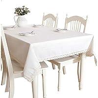 estilo minimalista escandinavo pa?o genuino s¨®lido de la tela de lino lavado mantel 6512-5