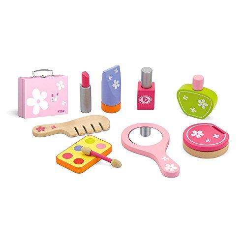 VIGA - Kosmetikkoffer-Spielset aus Holz