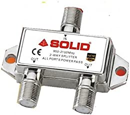 Solid SD-2WS 2-Way Splitter
