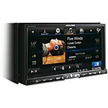 "Alpine INE-W987D Bluetooth Negro receptor multimedia para coche - Radio para coche (87,5 - 108 MHz, 531 - 1602 kHz, 153 - 281 kHz, 17,8 cm (7""), 800 x 480 Pixeles, Negro)"