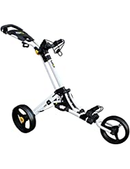 iCart Go 3 Wheel Push Trolley White