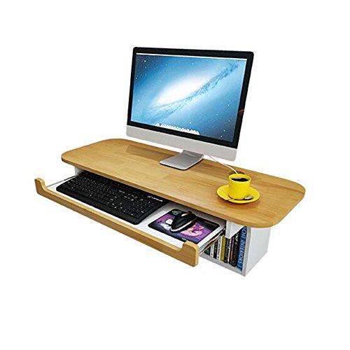 Desk XIAOLIN Wand-Computertisch, Arbeitszimmer-Schreibtisch-Arbeitsplatz, offene Fächer, kleines Haus, Eckschreibtisch (Wand-schreibtisch)