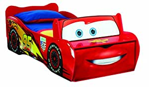 Disney Cars Lightning McQueen Kids Toddler Bed by HelloHome