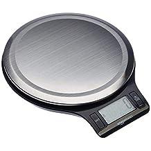 AmazonBasics roestvrij staal, BPA-vrij, digitale keukenweegschaal met lcd-scherm (inclusief batterijen)