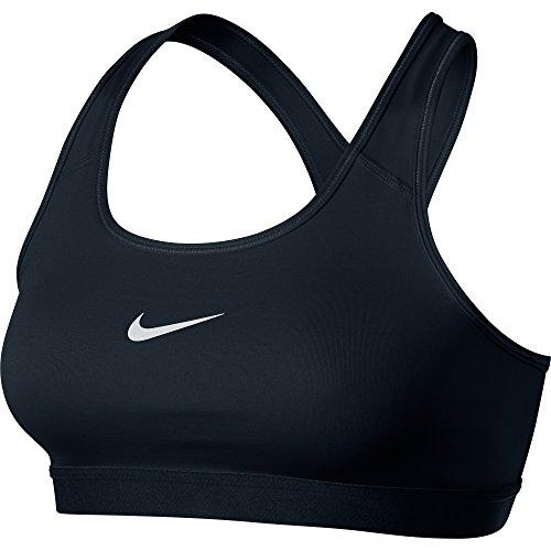 Nike Damen Unterwäsche Pro Classic Bra  , Black/White, L, 650831-010