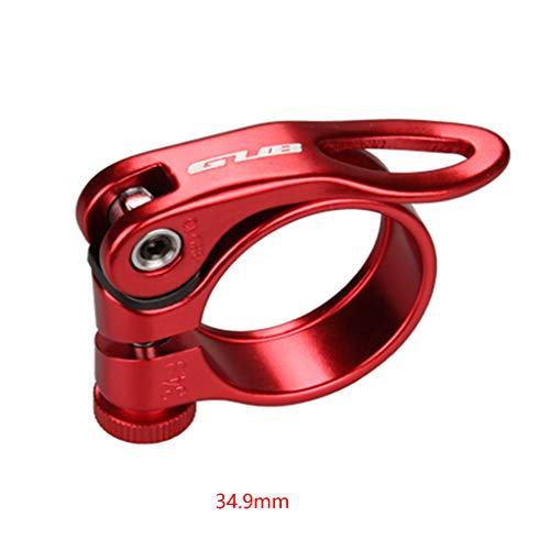 YILONG De Aluminio MTB Tija de sillín de la Bicicleta de la Abrazadera de liberación rápida Tija de sillín Accesorios Montaje de la Bici del Anillo 31.8/34.9mm