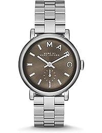 Marc Jacobs MBM3329 - Reloj para mujeres, correa de acero inoxidable color plateado