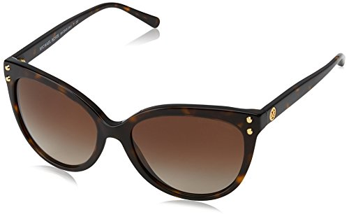 Michael Kors Damen JAN 300613 55 Sonnenbrille, Dark Tortoise Acetate/Browngradient,