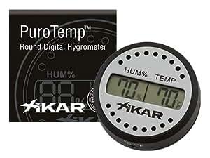 Thermohygromètre Digital Xikar Rond 832
