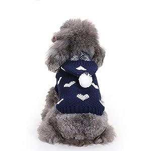 Vêtement Chien/Chat Angelof Pullover D'Hiver Animaux Habits Sweat-Shirt Veste Chiot Tee Shirt Tricots Manteau Chaud
