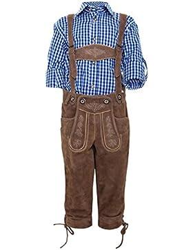Michaelax-Fashion-Trade Krüger - Kinder Trachten Lederhose, Ludwig Junior (Artikelnummer: 920-12)