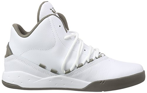 Supra Estaban, Sneakers Hautes Mixte Adulte Blanc (WHITE / MOREL - MOREL WMO)