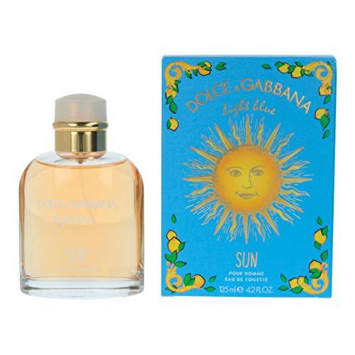 Dolce & gabbana - light blue sun pour homme summer 2019 eau de toilette spray 125ml - Dolce & Gabbana Light Blue Eau De Toilette Spray