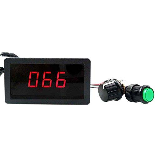 Aiming 6V 12V 24V 8A Digitalanzeige LED-DC-Motor Drehzahlregler PWM stufenlose Geschwindigkeitsregelung Schaltregler Schaltregler